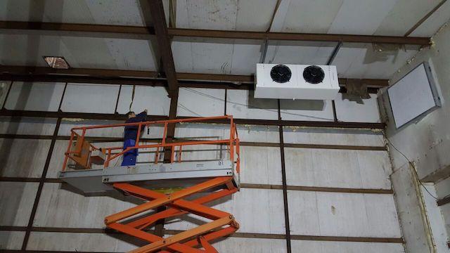 Камера на хранение 1000 тонн моркови